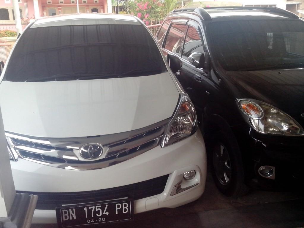 New Avanza rantal mobil bangka belitung