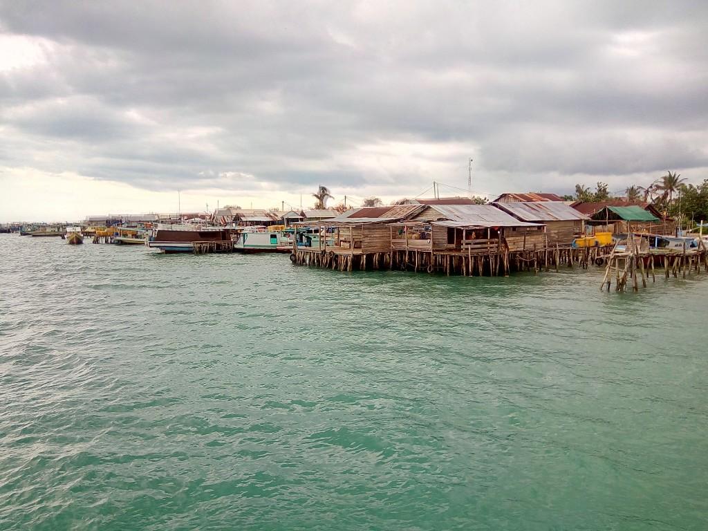 Keindahan Pelabuhan Sadai Toboali